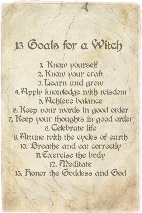 13 Goals For A Witch Shamanic Psychotherapy Reiki