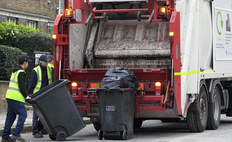 Clearing Out the Rubbish