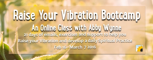 Raise Your Vibration Bootcamp with Abby Wynne