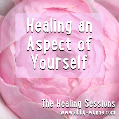 healing an aspect of yourself pre recorded healing session