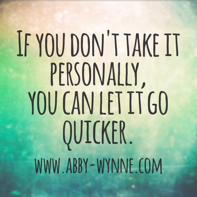 Personal or impersonal?
