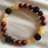 Red Jasper and Jade - Grounding and wisdom