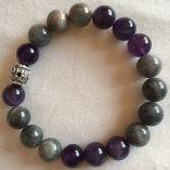 Amethyst and Labradorite -Psychic Development