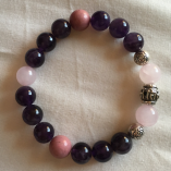 Rhodochrosite, Rose Quartz and Onxy - Stability and Self Love