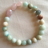 Rose Quartz and Adventurine - Creativity and imagination