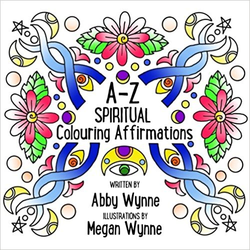 A-Z Spiritual Colouring Affirmations