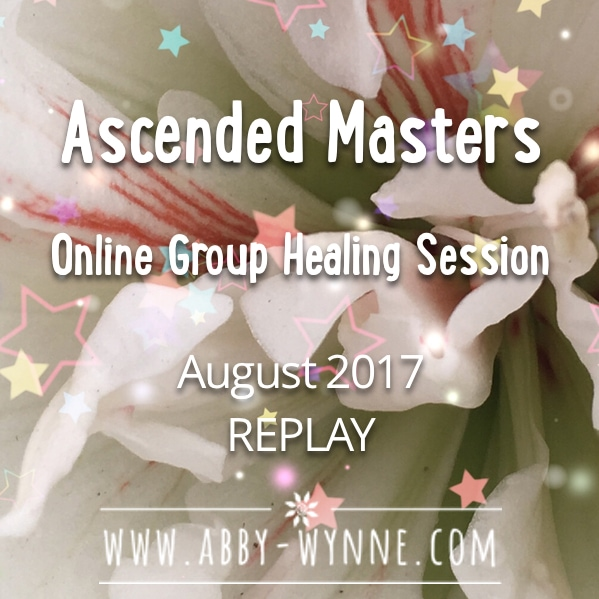 Ascended Masters Online Group Healing Session Replay