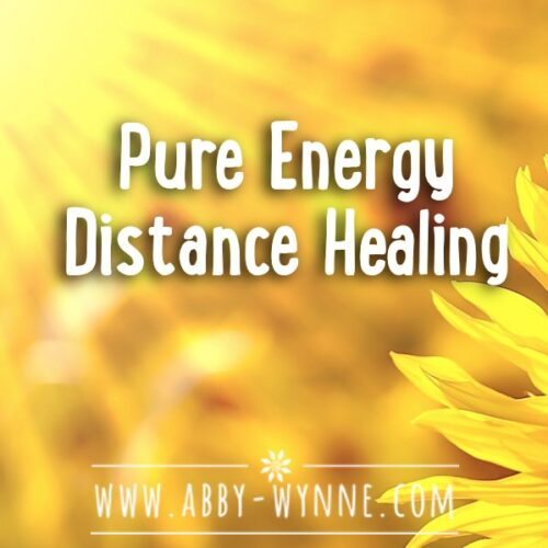 Pure Energy Distance Healing